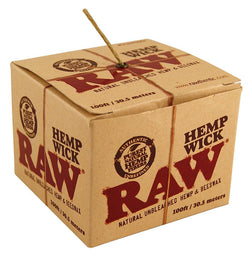 RAW HEMP WICK BALL 100 - Theheadquarters.com.au