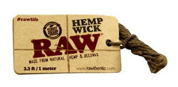 RAW HEMP WICK SMALL - Theheadquarters.com.au