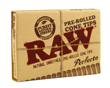RAW PREROLLED CONE TIPS PERFECTO - Theheadquarters.com.au