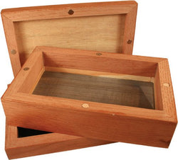 MAGNETIC WOODEN SIFTER BOX - SMALL - Theheadquarters.com.au