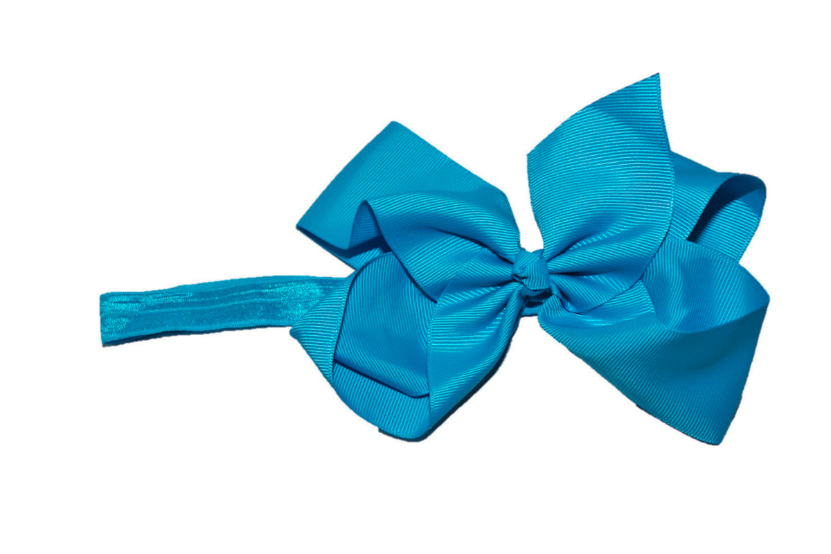 1624d88db5f612 6 Inch Boutique Bow Headband – Dream Lily Designs