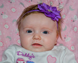 Purple Crystal Lily Headband - Dream Lily Designs