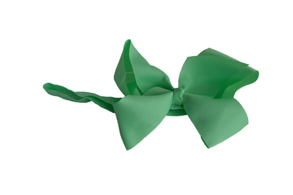 6 Inch Boutique Bow Headband - Mint Green - Dream Lily Designs