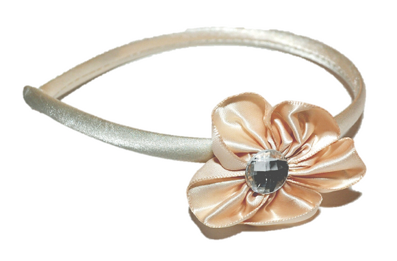 Cream Arch Flower Headband - Dream Lily Designs