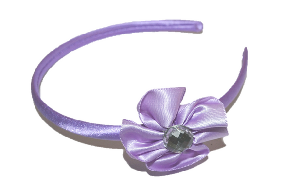 Light Purple Arch Flower Headband - Dream Lily Designs