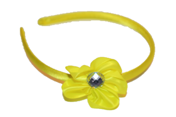 Yellow Arch Flower Headband - Dream Lily Designs