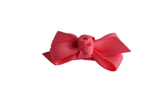 Knot Baby Snap Clip - Coral - Dream Lily Designs