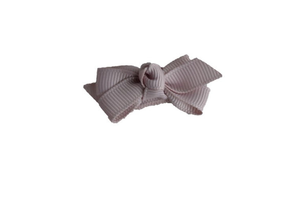 Knot Baby Snap Clip - Grey - Dream Lily Designs