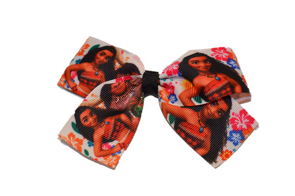Moana 1.5 inch Bow Cheer Bow Style (Disney) - Dream Lily Designs