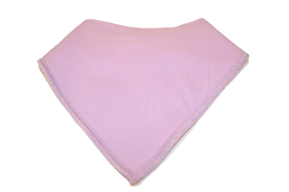 Light Purple Bandana Bib