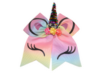 Rainbow Large Unicorn Bow - Dream Lily Designs