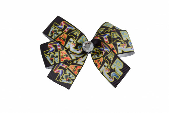 Yellow Star Wars Bow (Disney) - Dream Lily Designs