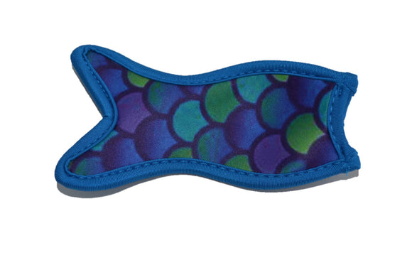 Mermaid Tail Popsicle Holder - Blue Purple Green - Dream Lily Designs