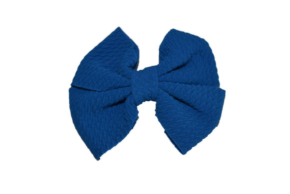 Bright Blue Nylon Fabric Pinwheel 3.5