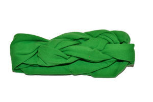 Green Braided Headband - Dream Lily Designs
