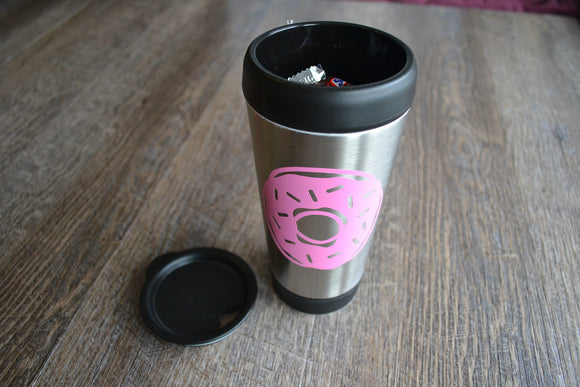 Stainless Steel Mug with Lid Candy Gift Set - Dream Lily Designs