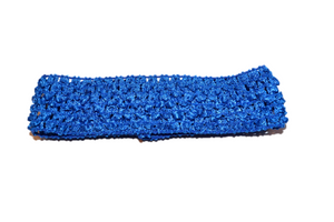 "Blue 1.5"" Crochet Headband - Dream Lily Designs"