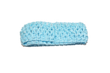 "Light Blue 1.5"" Crochet Headband - Dream Lily Designs"