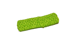 "Lime Green 1.5"" Crochet Headband - Dream Lily Designs"