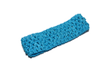 "Turquoise 1.5"" Crochet Headband - Dream Lily Designs"