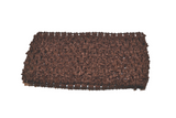 "Brown 2.5"" Crochet Headband - Dream Lily Designs"