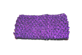 "Purple 2.5"" Crochet Headband - Dream Lily Designs"