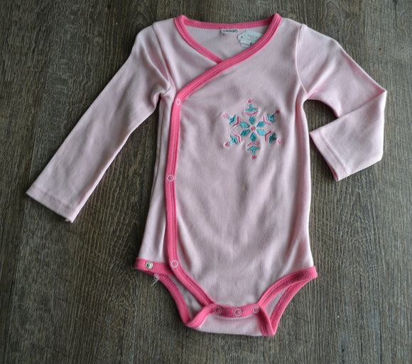 Snowflake Embroidered Onesie - Various Sizes - Dream Lily Designs