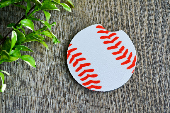 Car Coaster - Baseball - Dream Lily Designs