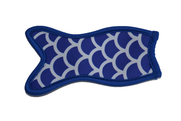 Mermaid Tail Popsicle Holder - Dark Blue - Dream Lily Designs
