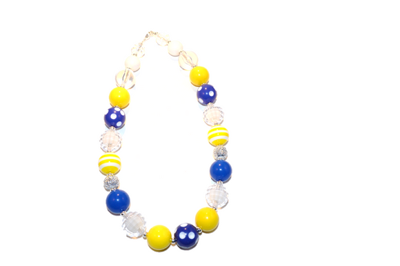 Yellow and Blue Chunky