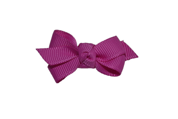 Knot Baby Snap Clip - Fuschia - Dream Lily Designs