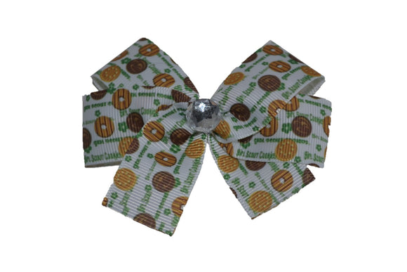 Girl Scout Small Cookies Bow (Girl Scouts) - Dream Lily Designs