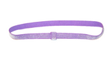 "Light Purple .25"" Glitter Elastic Headband - Dream Lily Designs"