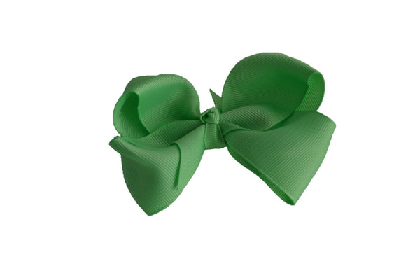 4 Inch Boutique Hair Bow Mint Green - Dream Lily Designs
