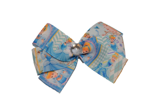 Cinderella Light Blue Princess Bow (Disney)