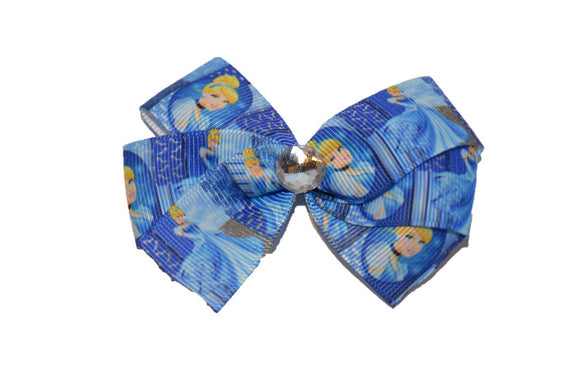 Cinderella Dark Blue Princess Bow (Disney)