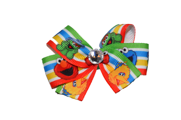 Elmo Sesame Street Big Bird Bow (Misc Characters) - Dream Lily Designs