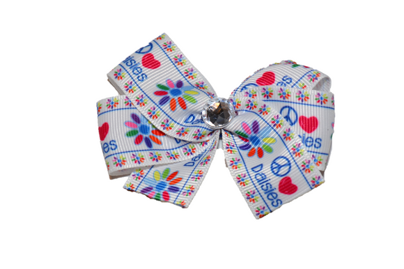 Daisies Bow (Girl Scouts) - Dream Lily Designs