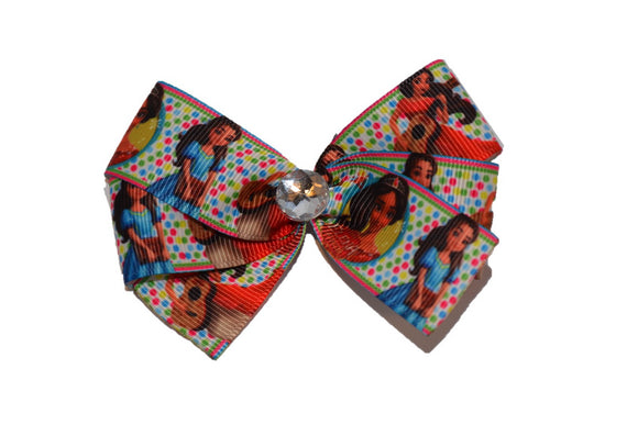 Elena of Avalor Polka Dot Princess Bow (Disney)