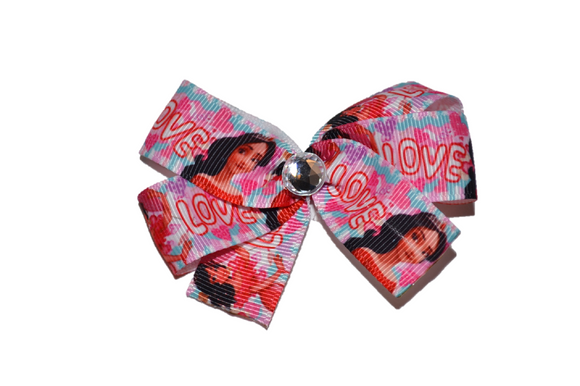 Elena Princess Pink Love Bow (Disney) - Dream Lily Designs