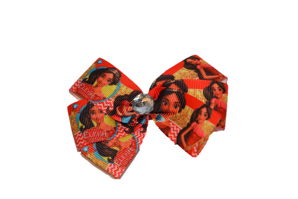 Elena of Avalor Red Princess Bow (Disney)