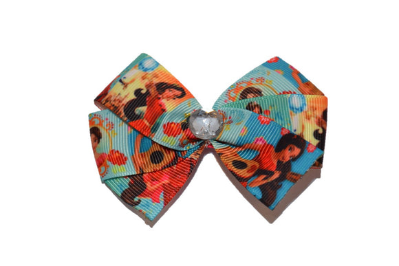 Elena of Avalor Teal Princess Bow (Disney)