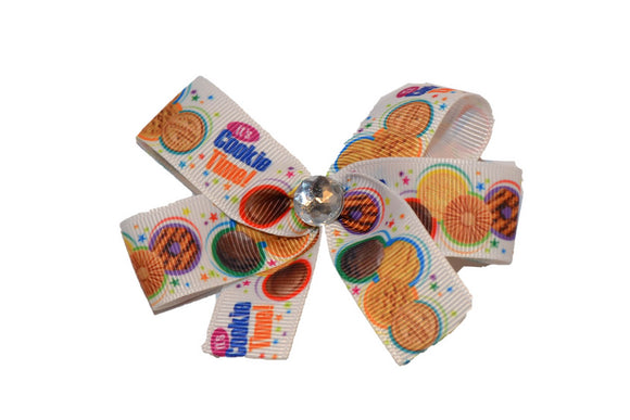 Girl Scout Cookie Time Bow (Girl Scouts) - Dream Lily Designs