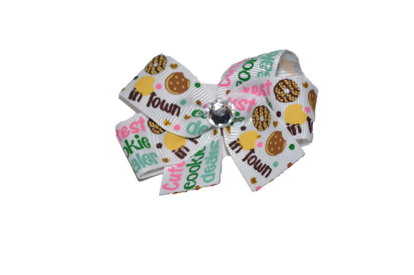 Girl Scout Cookie Dealer Bow (Girl Scouts) - Dream Lily Designs
