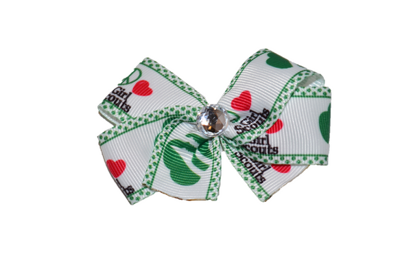 Logo and Symbols Bow (Girl Scouts) - Dream Lily Designs