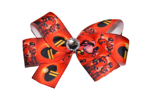 Incredibles Bow (Disney) - Dream Lily Designs