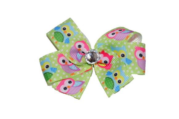 Light Green Owls Bow (Animal)