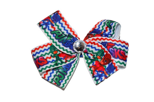PJ Masks Chevron Bow (Disney) - Dream Lily Designs