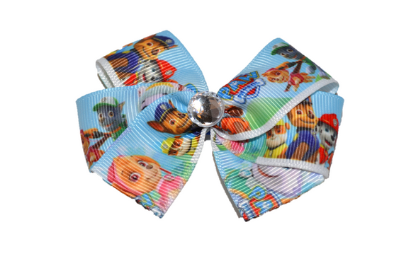 Paw Patrol Light Blue Bow (Misc Characters) - Dream Lily Designs