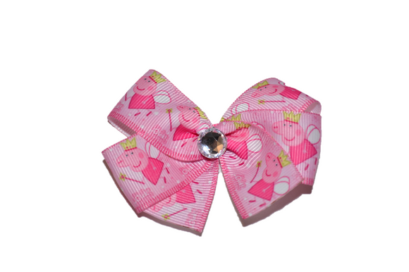 Peppa Pig Pink Fairy Bow (Misc Characters) - Dream Lily Designs